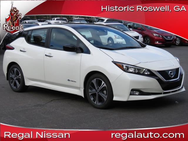 Certified Pre Owned 2018 Nissan Leaf Sv Sv Hatchback In Roswell