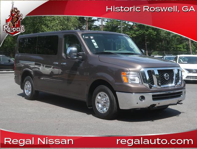 Pre-Owned 2018 Nissan NV Passenger NV3500 HD SL